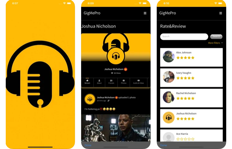 GigMePro – The Perfect App to Look For the Best Artist in Town