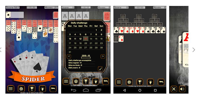 SOLITAIRE 9 GAMES- A NEW TWIST!