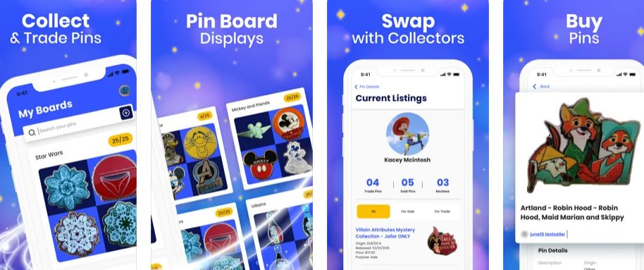 Magic Pin puts the world of pin collecting in your hand.